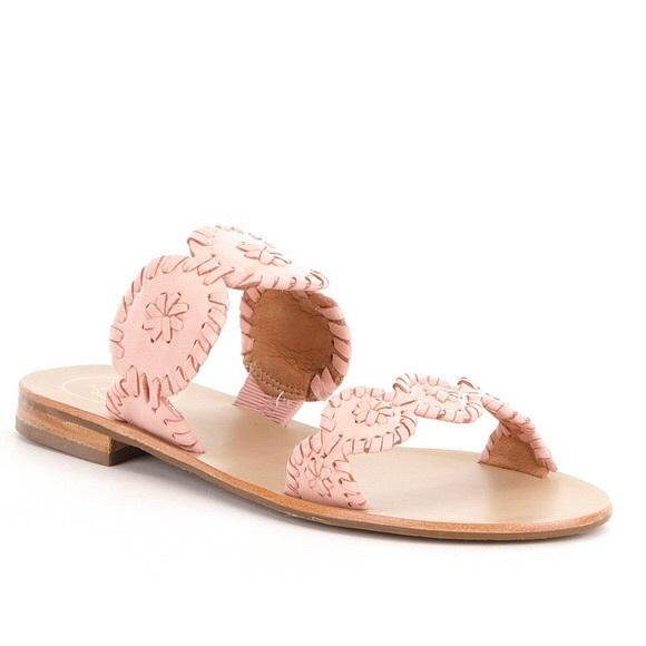 7e5907c128ffd1 Jack Rogers Shoes - Jack Rogers Lauren Sandal (Millennial Pink)